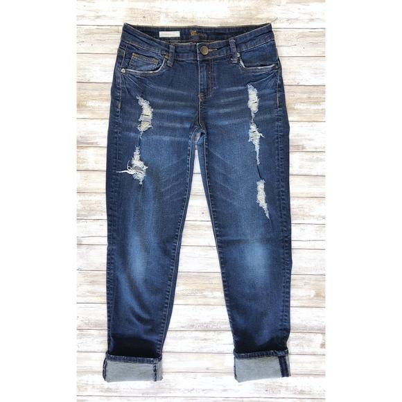 Kut from the Kloth Denim - Kut from the Kloth Catherine Boyfriend Jeans 8401